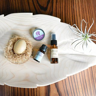 Elm essential oil spread egg combination + eucalyptus emollient candle (40% off with moisturizing spray!!)