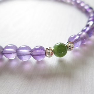 """Conventions"" series - Taiwan Jade Amethyst Bracelet (Limited product)"