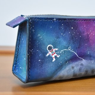 Spaceman landing on the moon x pencil case