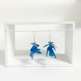 | Ocean swimming | Hook Earrings