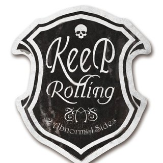 Keep Rolling sticker | Keep Rolling continue to move forward waterproof anti-UV sticker