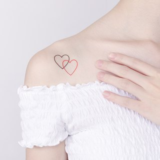 Surprise Tattoos - Heart Temporary Tattoo