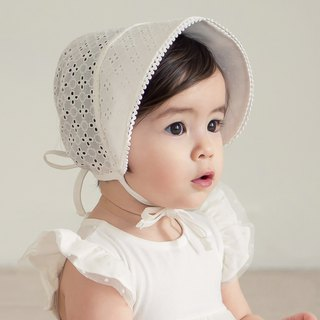 Happy Prince Chloe Lace Baby Girl Visor Made in Korea