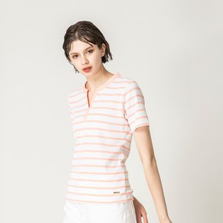 Small V Neck Stripe Top