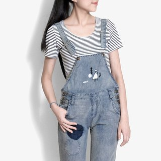[Limited] Great hide and seek Boy / micro naughty cowboy suspenders trousers