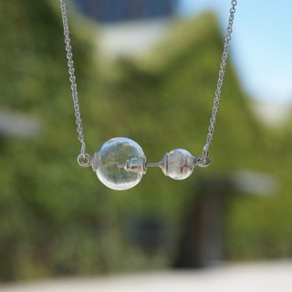 [Dandelion | the seeds of the air] dandelion balance necklace