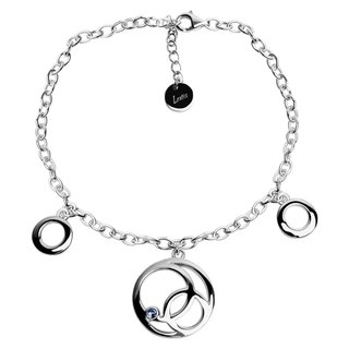 Circle of Light Bracelet 925 Silver Swarovski Crystals WM4B