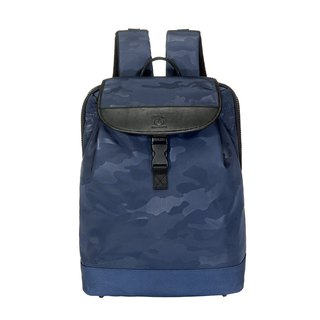 Amore City Camouflage Backpack Blue
