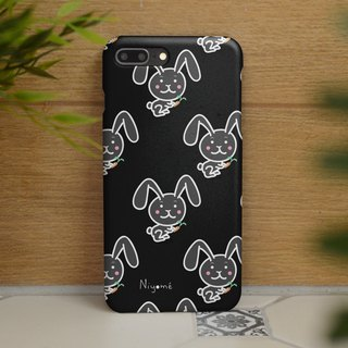iphone case black rabbit pattern for iphone5s,6s,6s plus, 7,7+, 8, 8+,iphone x