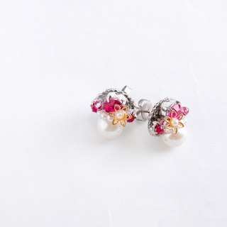 Bijou & Pearl Petit Pierce (Earring) deeppink