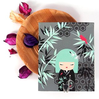 Notepad 85 pages with mirror - Nagisa Quiet Peace [Kimmidoll Notepad / Journal]