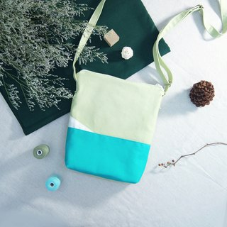 [An island series by the lake] Summer limited color medium crossbody backpack