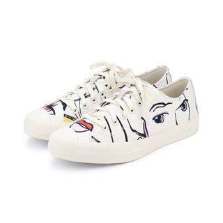 Double Face M1154 White Graffiti sneakers