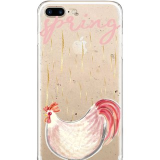 Cute Oil Painting Chick - iPhone X 8 7 6s Plus 5s Samsung note S7 S8 S9 plus HTC LG Sony Mobile Phone Case Cover