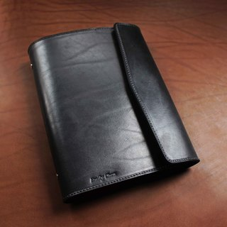 VULCAN Leather Note Loose-leaf A5 Italian Grade A vegetable tanned cow leather can be purchased with embossed service