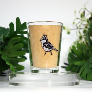 Small bird glass cup CHECK inn X spring pool glass joint goods