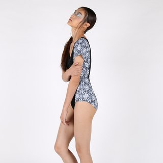 Crystal suit - BlackPrint / swimwear / S