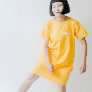 ✈ ☁ ☁ ige on the plane / cotton cotton long dress / evening color