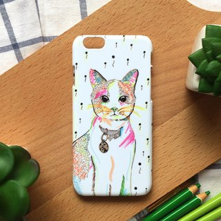 Colorful Cat. Matte Case( iPhone, HTC, Samsung, Sony, LG, OPPO)