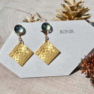 ciel d'hiver+sq earrings
