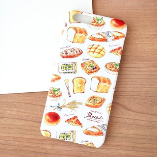 Bread iPhoneケース(白)