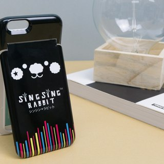 Star Rabbit Sing Sing Rabbit Black Japanese Style 6 Function Multi Purpose iPhone Case 6 / 6S