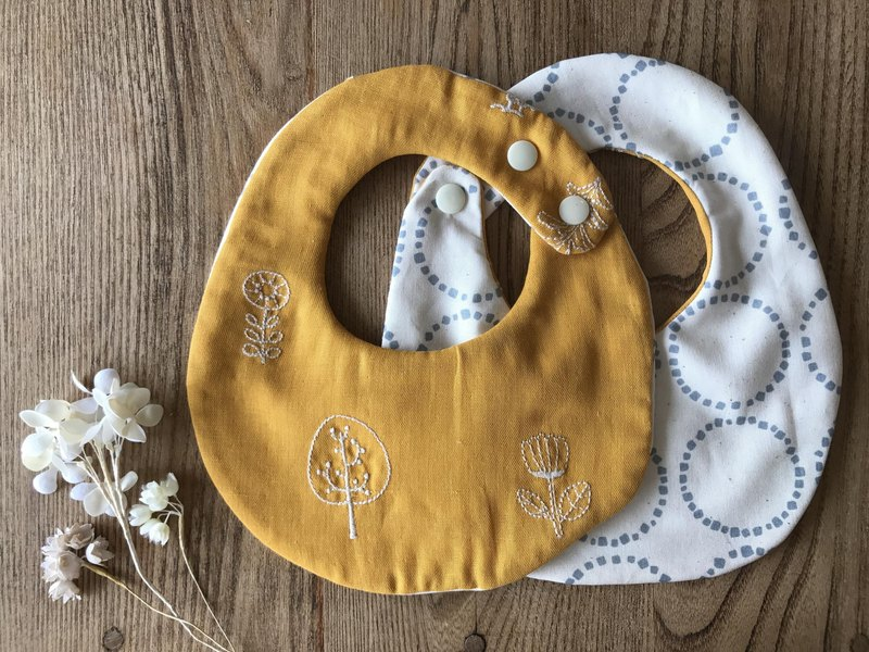 tout rond / Reversible Stay (Owl Forest - Yellow)