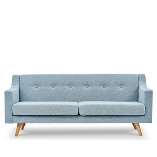 AJ2 │ Irena │ Royal Blue │ Three-seat sofa