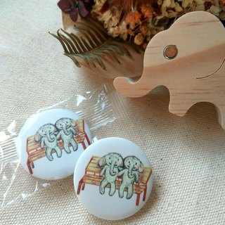 When we laugh together with an elephant badge