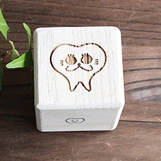 Breast tooth box High quality 'kiri' dog cat 'iroha: Cat's illustration' Child's teeth Adult's teeth Baby gifts Present Iroha teeth teeth (dogs, cats, adult teeth boxes, children's teeth boxes wisdom teeth boxes)