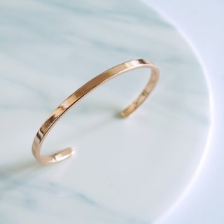Rose Gold Minimal Skinny Bangle
