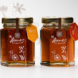 <Christmas gift special offer> Bee honey honey cotton / mango honey 70g*2 transparent box [no elevator]