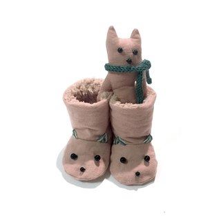Booties of the babygift cat     Pink