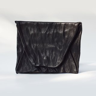 【Nong】 handmade leather goods / first layer of vegetable tanning calfskin / experimental wash to do the old / envelope bag / wallet