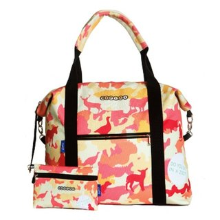 COPLAY  travel bag- orange zoo