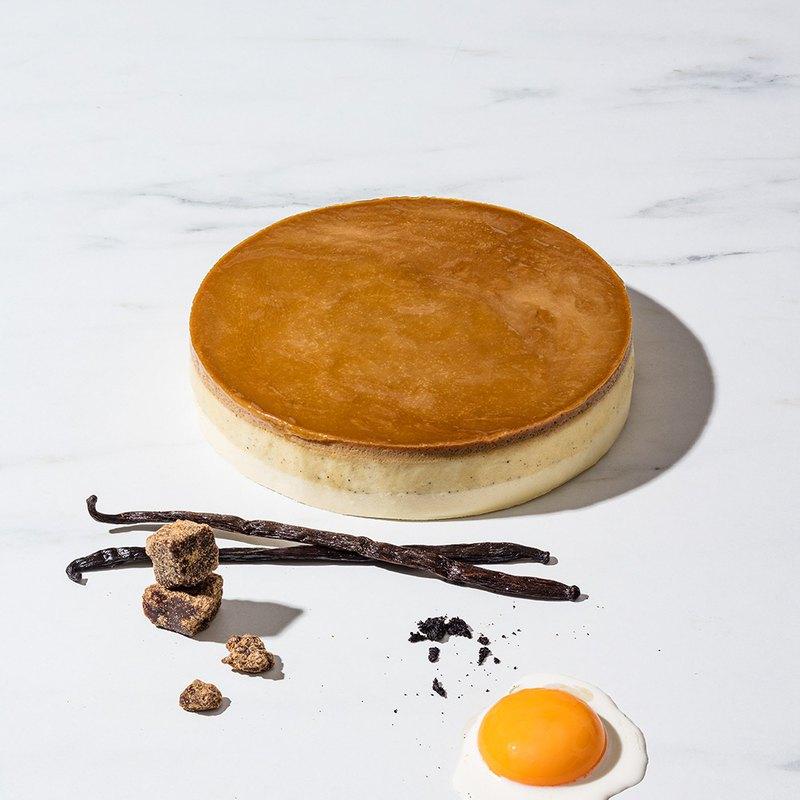 【1%bakery】濃烤香草布丁乳酪蛋糕6吋