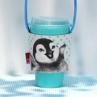Happiness Little Penguin Drink Bag