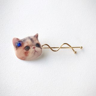 House of Cats Jojo floral handmade hair pin