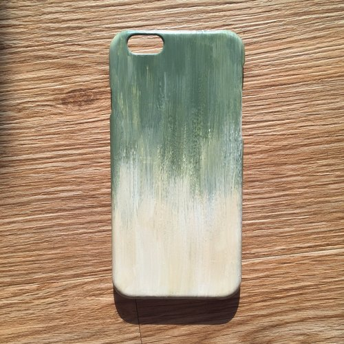 Matcha latte hand-painted phone case with matcha latte IPHONE: HTC: SONY: SAMSUNG: ASUS: OPPO Hand-painted Hand-painted