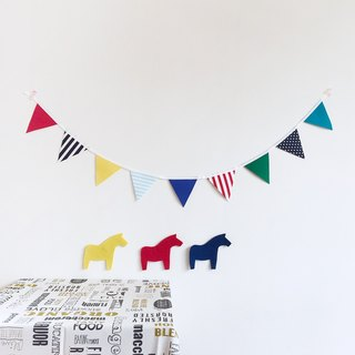 【La la la】Fantastic Pennant / Limited Handmade / Lifestyle / Decorate