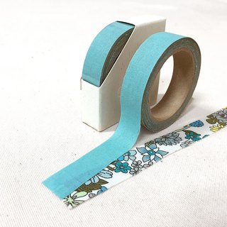 Cloth tape - spring solid color 【bamboo】