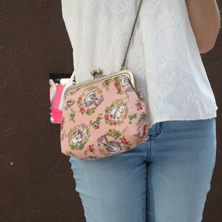 Pink Forest Rabbit Cross Body Bag M Size | Girlskioku~*