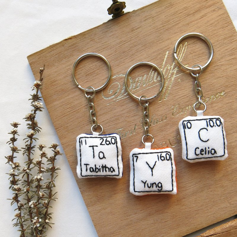 Lifelong Learning series: Handmade Elements Keychain