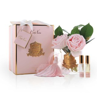 CoteNoire Fragrance Flower - Pink Camellia Rose Fragrance Flower