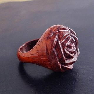 Miramed Creative DIY Wooden Sensing Ring Glamor Red Ride / Bus / Train / Shopping Tour Card or Card Gift / Solid Wood