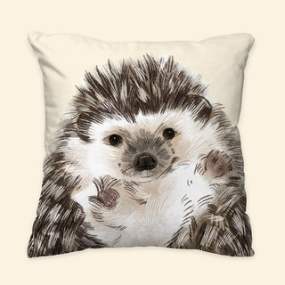 [I will love you forever] classic hedgehog pillow animal pillow / pillow / cushion