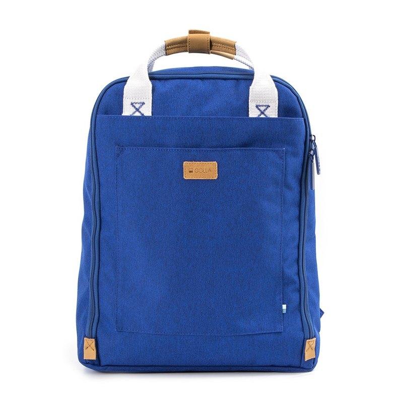 GOLLA 北歐芬蘭時尚極簡後背包 Backpack Orion-G1764-藍