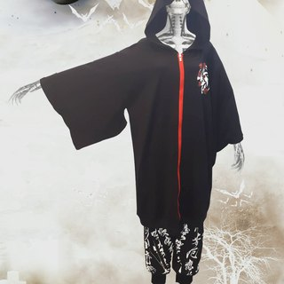Ghost Night and Wind Sleeve Cap Coat (both men and women can wear)