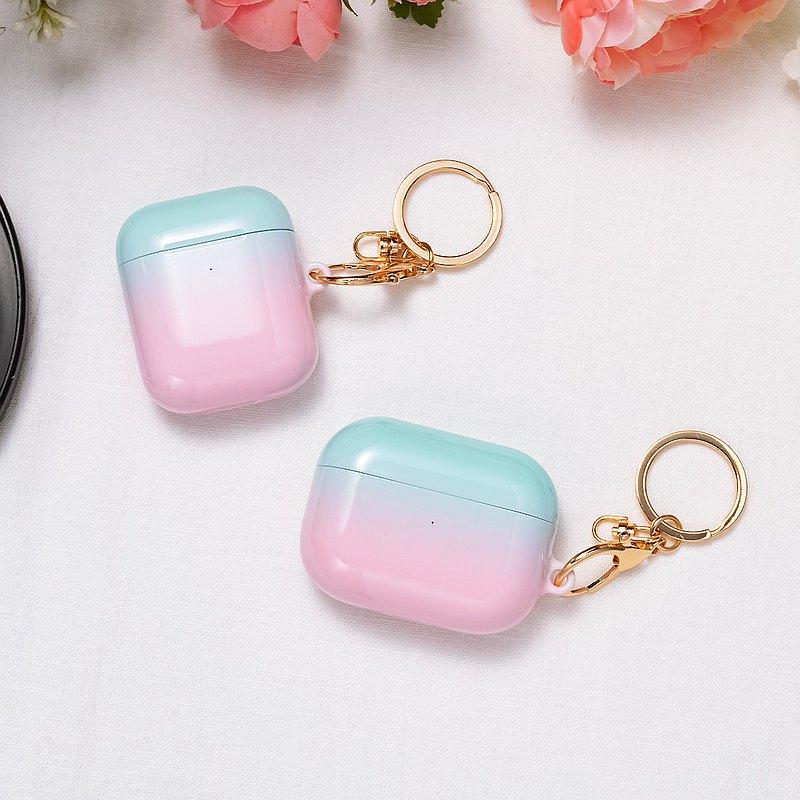 AirPods 1/2/Pro硬殼耳機保護套 藍粉紅粉彩