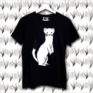 Foxpixel 3D Embroidery Tee with Ermine